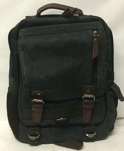 Leaper Retro Messenger Bag Canvas Shoulder Backpack Rucksack