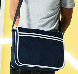 Bagbase Retro Messenger Bag Over Shoulder Style Unisex Style