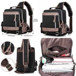 Leaper Retro Messenger Bag Unisex Crossbody Bags Shoulder Ou