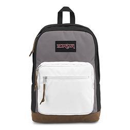 JanSport Right Pack Laptop Backpack - Black/Grey Horizon