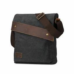 S-ZONE Vintage Lightweight Small Canvas Messenger Bag Travel