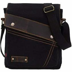 Sechunk Messenger Bags Vintage Small Canvas Shoulder Crossbo