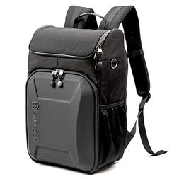 Evecase Hard Shell SLR DSLR Camera Bag Backpack, Travel Wate