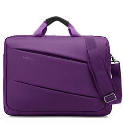 CoolBELL Shoulder Bag 17.3 Inch Laptop Bag Messenger Bag Bri