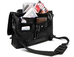 Canvas Bag Retro Messenger Bag Shoulder  17 inch Gift Men/Wo