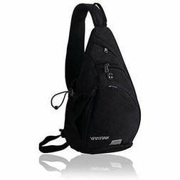 WATERFLY Sling Backpack Sling Bag Small Crossbody Daypack Ca