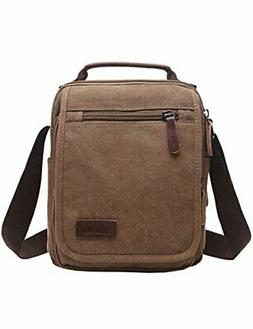 mygreen Small Canvas Crossbody Shoulder Bag Messenger Bag Wo