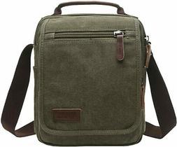 mygreen Small Canvas Crossbody Shoulder Bag Messenger Bag Wo