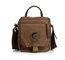 Sechunk Small Canvas Messenger Bag Shoulder Bag Crossbody Sa