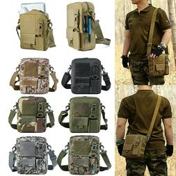 Small Canvas Messenger Bag Tactical Crossbody Casual Pack Fo
