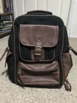Leaper Small Canvas Shoulder Messenger Bag Vintage Work Bag