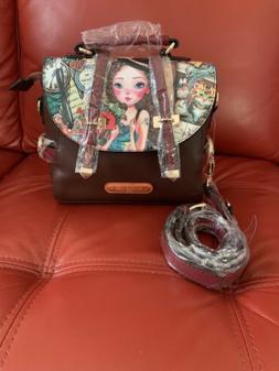 Nicole Lee Small Fashion Messenger Bag