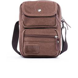 Small Messenger Bag Vintage Canvas Travel Shoulder Bag Casua
