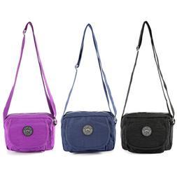 Small Satchel Shoulder Bag Handbag Across Cross Body Ladies
