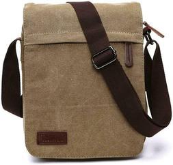 Sechunk Small Vintage Canvas Messenger Cross body bag Should