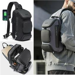 Stylish Men's Anti-theft Sling Bag Crossbody Backpack Should