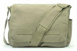 Sweetbriar Classic Messenger Bag - Vintage Canvas Shoulder B