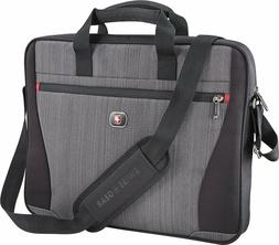 Swissgear - Structure 17 Laptop Case - Gray Heather/Black