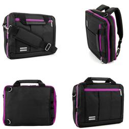 "VanGoddy Tablet Messenger Bag Backpack Carry Case for 12"" Sa"