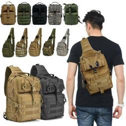 Tactical Messenger Bag Military Sling Shoulder Pack Backpack