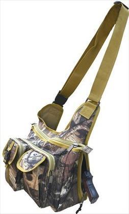 Explorer Tactical Concealed Carry Messenger Bag Mossy Oak