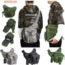 Tactical Shoulder Bag EDC Messenger Sling Pack Waist Bags Mi