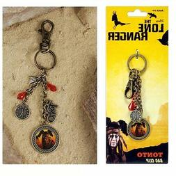 The Lone Ranger Tonto Bag Clip NEW Toys NECA Charm Johnny De