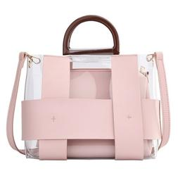 Transparent Handbag Women's Composite Bags Fashion Top-handl