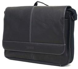 Leather Messenger Bag, Travel Luggage Office Business Access