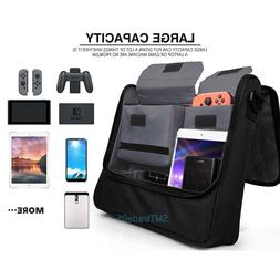 Travel Messenger Storage Bag for Nintendo Switch Console and