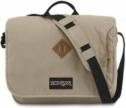 "JanSport Crosstalk 15"" Laptop Messenger Bag Desert Beige TZW"