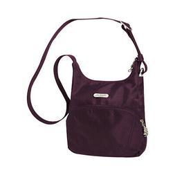 Travelon Unisex  Anti-Theft Essential Messenger Bag Purple S
