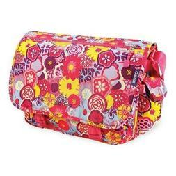 JWorld New York Unisex  Terry Messenger Bag Poppy Pansy Size