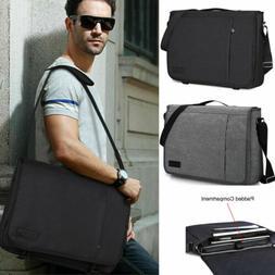 US 15.6 in Laptop Messenger Bag Shoulder Business Bags Brief