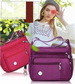 US Women Lady Waterproof Nylon Shoulder Bag Messenger Crossb