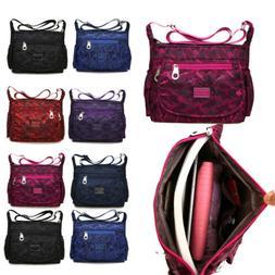 US Women Waterproof Single-shoulder Messenger Crossbody Bag