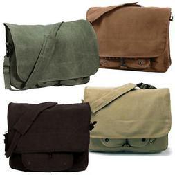Rothco Vintage Canvas Paratrooper Shoulder Messenger Bag