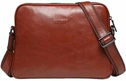 Banuce Vintage Full Grains Italian Leather Messenger Bag for