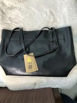 Kattee Vintage Genuine Leather Tote Shoulder Bag for Women S