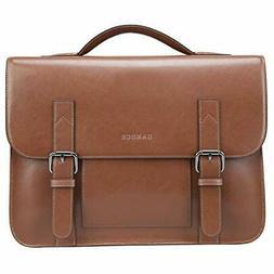 vintage leather messenger bag for men shoulder