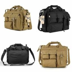Vintage Nylon Military Tactical Bag Shoulder Messenger Bag L