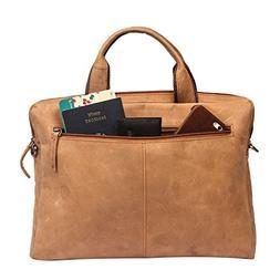 13-13.3 inch Vintage Leather Sleek Handmade Sleeve | Shoulde