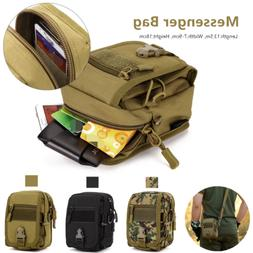 Waist Messenger Phone Bag Men Cycling Equipment Small Milita