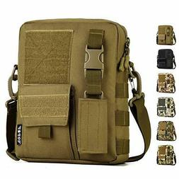 waterproof casual pack tactical small canvas messenger