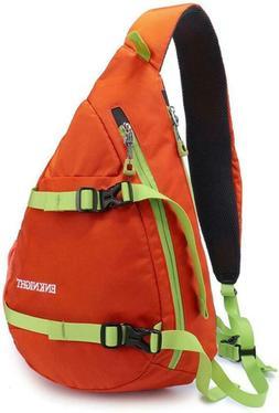 Enknight Waterproof Chest Bag Casual Sling Bag Unbalance Bac
