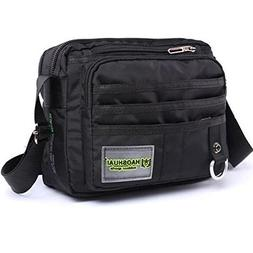 JAKAGO Small Waterproof Messenger Bag Casual Shoulder Bag Mu