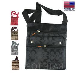Womens Crossbody Travel Thin Shoulder Bag Pouch Purse Wallet