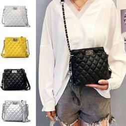 Women Ladies Leather Crossbody Shoulder Bag Tote Purse Handb