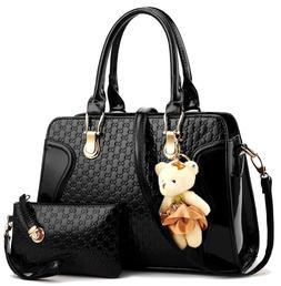 ❤️Women Lady's PU Leather Handbags Messenger Shoulder Ba