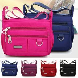 Women Lady Waterproof Nylon Messenger Bags Crossbody Shoulde